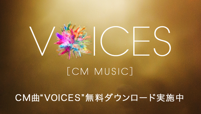 VOICES[CM MUSIC]