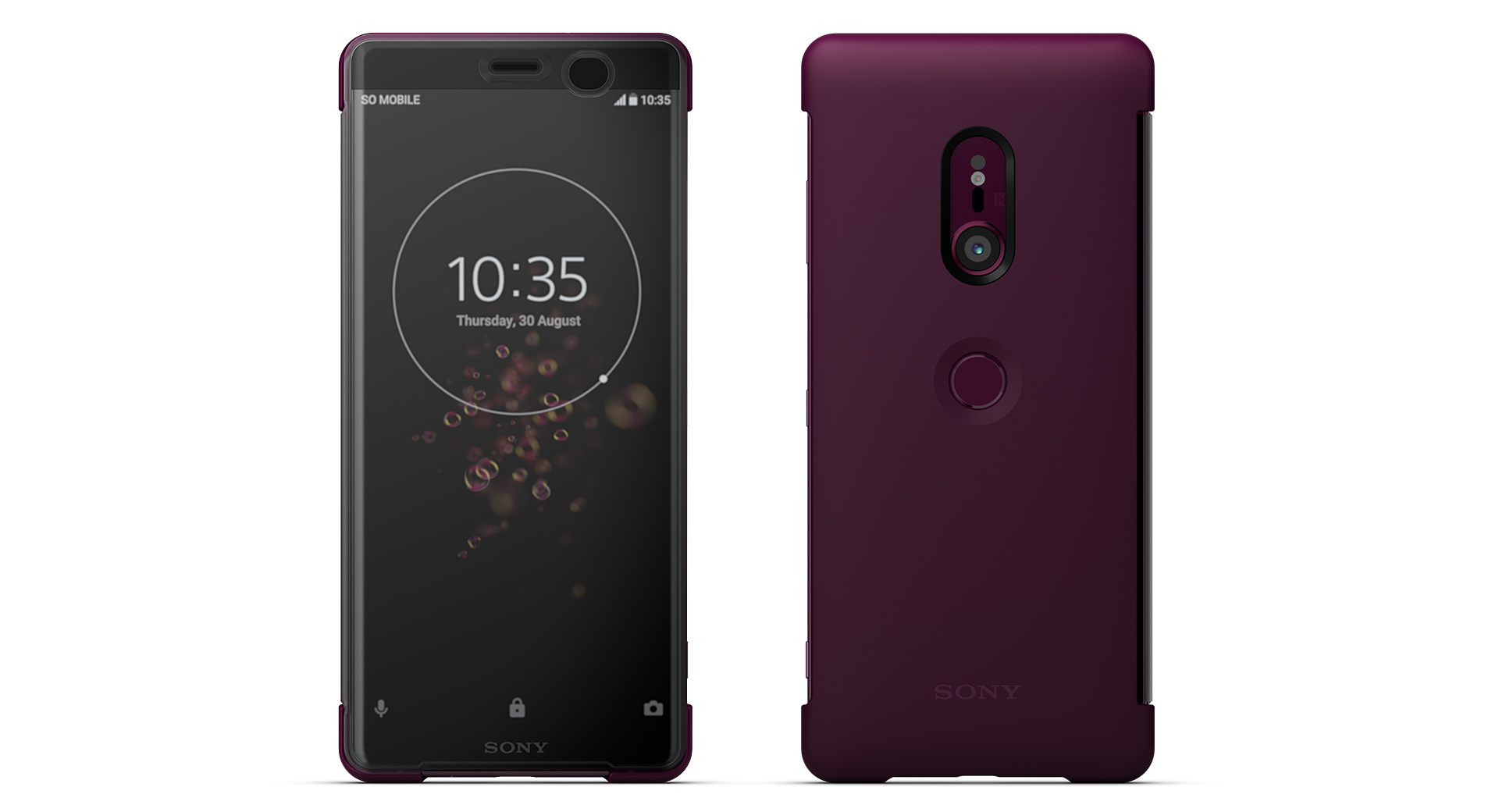 competitive price 99a75 84047 Xperia(エクスペリア)Xperia XZ3 Style Cover Touch SCTH70 | ソニー ...