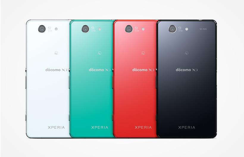 Xperia Z3 Compact (docomo>SO-02G) Snapdragon 801 MSM8974AC 2.5GHz 4コア