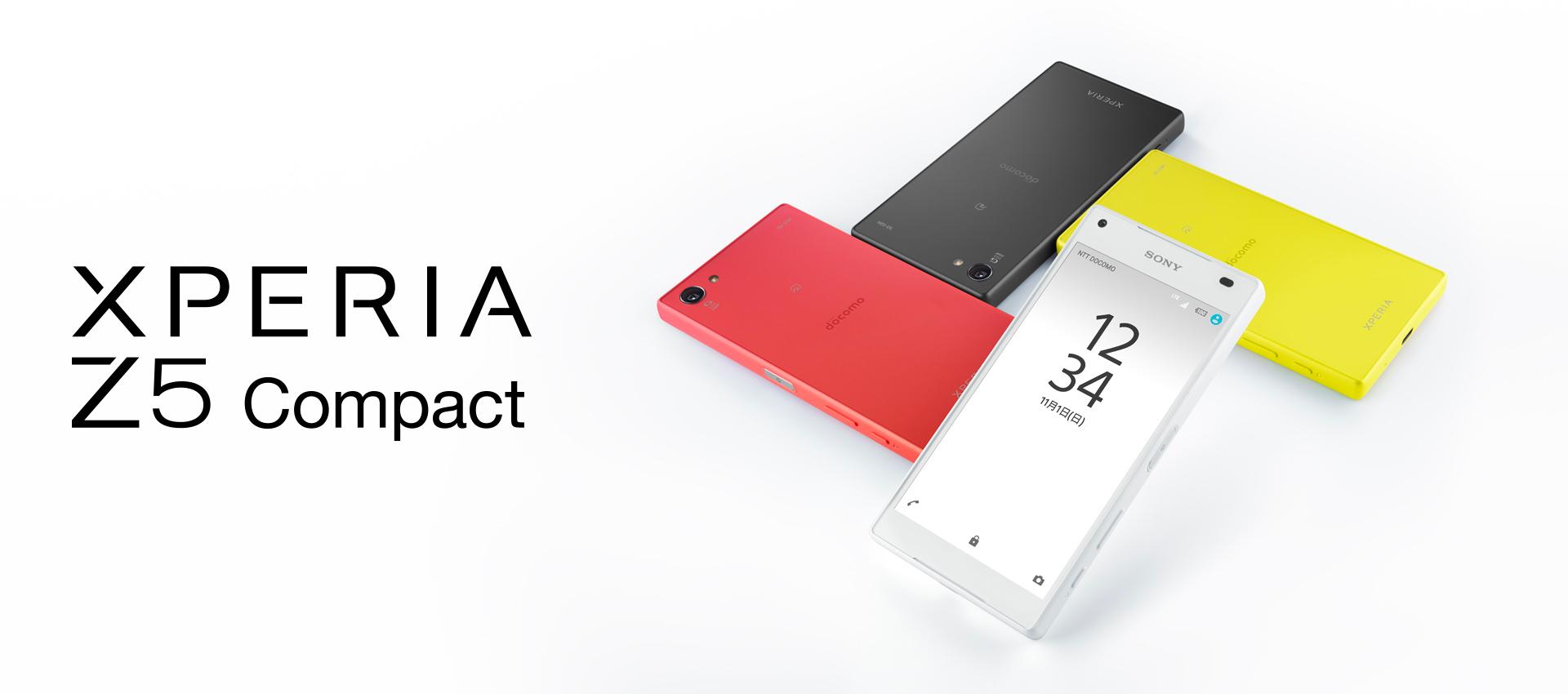 Xperia™ Z5 Compact SO-02H