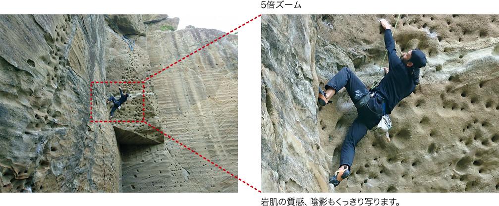 デジタル5倍ズーム(メインカメラ)のイメージ