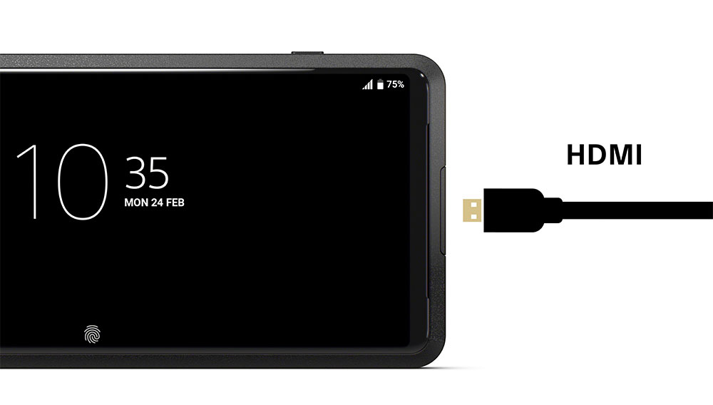 HDMI接続